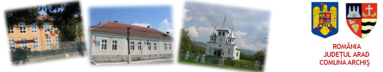 Comuna Archiș – județul Arad